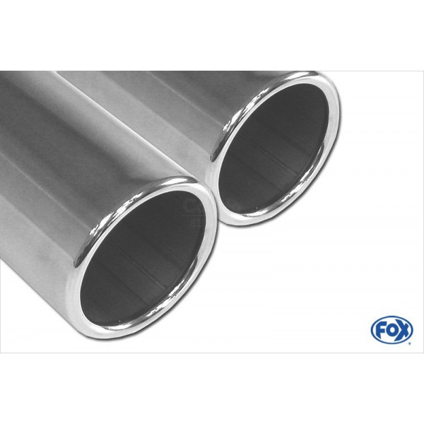 FOX Mazda MX-5 ND Exhaust Tip Right Side - 2 x70 Type 16