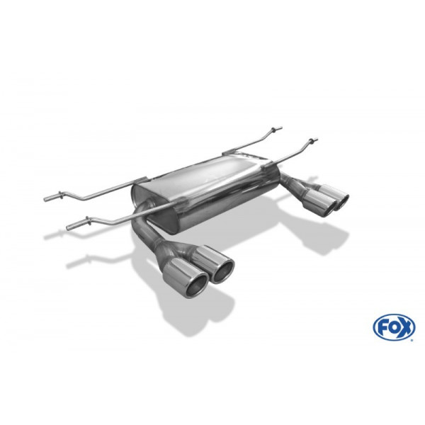FOX Mazda MX-5 ND Exhaust Left & Right Side - 2 x70 Type 16
