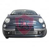 Fiat 500 Grill Aston Martin Look (1 piece) 2007-2015