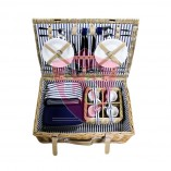 Convertible picnic basket  for 4 persons