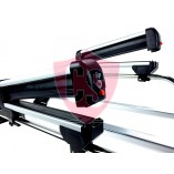 Holder for 2/3 Pairs of Skis or 1 Snowboards - only suited for prime-line and center-line racks