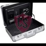 Aluminum travel case Toscane - Matt Silver