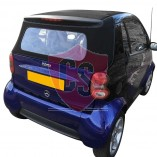 Convertible Window Section Smart ForTwo A 450 2000-2004