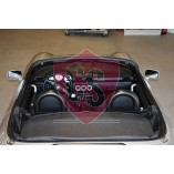 Toyota MR2 Roadster Anti Roll Bars + Wind Deflector 1999-2007 BLACK EDITION