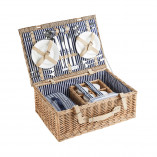 Convertible picnic basket  for 4 persons 55 x 37 x 21 cm
