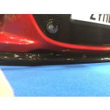 Front grill Mazda MX-5 ND/RF - Mesh narrow - Matt black with LED fog lights