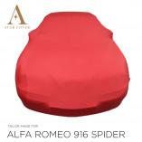 Alfa Romeo 916 Spider Indoor Cover - Tailored - Red