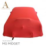 MG Midget Indoor Cover - Red