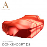 Donkervoort D8 Indoor Cover - Tailored - Red