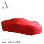 Lotus Elise Indoor Cover - Tailored - Red