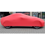 Mazda MX-5 NC Indoor Cover with Emblem  - Red