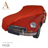 MG MGB Indoor Cover - Red