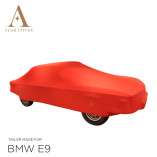 BMW E9 Indoor Car Cover - Tailored - Red