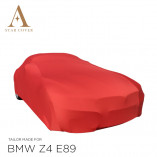 BMW Z4 Roadster E89 Indoor Car Cover - Tailored - Red