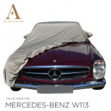 Mercedes-Benz W113 Pagoda Outdoor Cover - Star Cover - Military Khaki