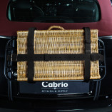 Luggage Belts Made of Leather - Black