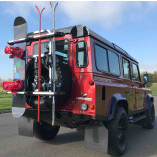 Spare Tire Ski & Snowboard Rack Off-Road Vehicles 4x4   FABBRI GRINGO SKI & BOARD