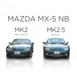 Mazda MX-5 NB Mesh Grill - BLACK EDITION (1 piece) 1998-2002 till Facelift