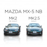 Mazda MX-5 NB Mesh Grill (1 piece) 2002-2005 Facelift Model