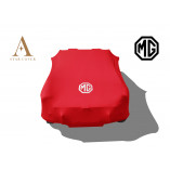 MG MGB Indoor Cover - MG Logo - Red