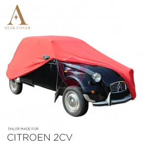 Citroën 2CV Indoor Cover - Tailored - Red