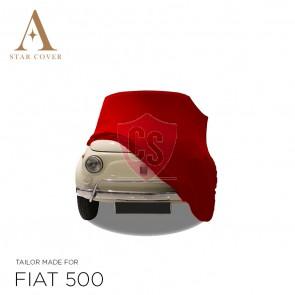 Fiat 500 - Indoor Car Cover - Red