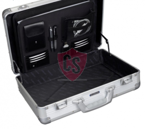 Aluminum travel case Toscane - Matt Silver