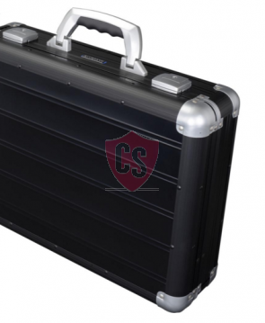 Aluminum travel case Toscane - Matt Black