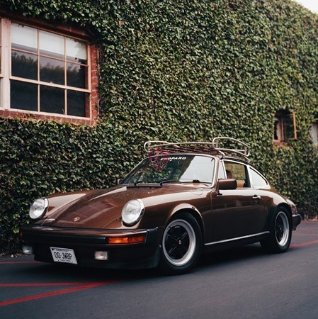 Porsche 911 Coupe 1965-1989 Roof Rack - Stainless Steel ...